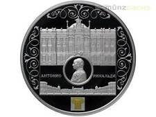 25 Rubel Marble Palace St. Petersburg A. Rinaldi Russland 5 oz Silber PP 2015