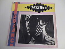45 Tours DE BLANC Hush , when the love runs out 971