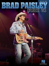 Brad Paisley - Greatest Hits (PianoVocalGuitar Artist Songbook)-ExLibrary