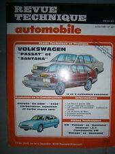 VW PASSAT SANTANA 4-5 cyl. Essence : revue technique RTA 457