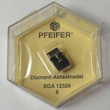 Ω Ersatznadel Pfeifer SGA 12326 für Sanyo ST 101 SD - MG 101 S - Aiwa AN 70