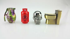 2 Assorted Shapes Metal Cigarette Snuffers