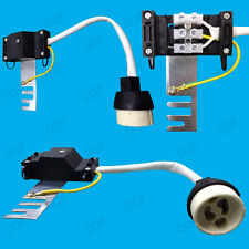 GU10 Ceramic Socket Heat Resistant Flex Lamp Holder & Bridge, Down light Fitting