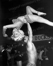 8x10 Print Jayne Mansfield Mickey Hargitay Los Angeles 1956 #JM73