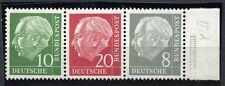 Bund 10+20+8 Heuss Zusammendruck 1960** (S4565)