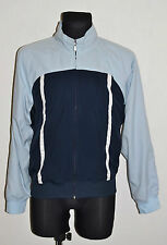 MENS NIKE TRACKSUIT JACKET ZIP CARDIGAN SWEATSHIRT COTTON LINED BLUE M MEDIUM