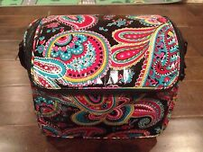 Brand New Vera Bradley Parisian Paisley Stay Cooler Lunch Tote/SLR Camera Case