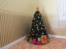 DOLLS HOUSE EMPORIUM DECORATED PORCELAIN CHRISTMAS TREE