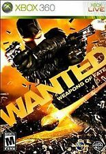 Wanted: Weapons of Fate (Microsoft Xbox 360, 2009) New