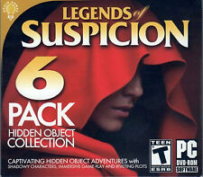 MYSTERY TALES THE LOST HOPE Hidden Object LEGENDS OF SUSPICION 6 PACK PC GameNEW