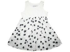 Girl Baby Gap Butterfly Island Black White Flower Dress Size 12-18 Months
