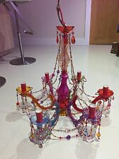 Gypsy Chandelier Pendant Ceiling Light - Multi Coloured
