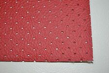 FORD PERFORATED HEADLINER VINYL BRIGHT RED MATERIAL BY THE YARD TOP QUALITY