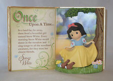 Storybook Snow White Precious Moments Open Book Forest Bunnies Disney NWOB