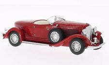 Whtiebox WB069 - 1/43 AUBURN BOAT TAIL ROADSTER RED 1933 MODEL CAR