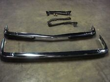 MERCEDES W123  FRONT + REAR EURO BUMPER,FITS 240D,280E,280CE,300D,300CD