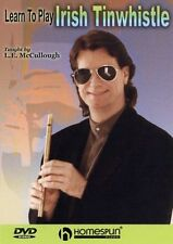 Learn To Play Irish Tinwhistle Tuition DVD Taught by L E McCullough