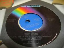 """Rock 45 THE WHO Squeeze Box on MCA 7"""""""