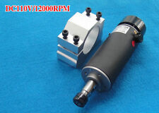 DIY Air cooled Engraver Spindle Motor Engraving Milling 500W ER11 DC110V 3.175mm