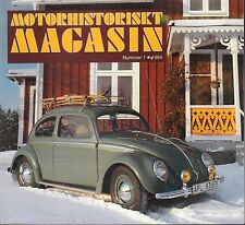Motorhistoriskt Magasin Swedish Car Magazine #1 1994 Beetle 031617nonDBE