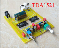 DC 19V 24V 32V Classic TDA1521 30WX2 BTL Audio Power Amplifier Board DIY Kits