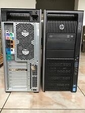 Workstation HP Z820 xeon E5-2640, Ram 32Go, quadro 2000, SSD 256GB+500GB+1TB