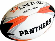 PANTHERS - High Abrasion Advance PIN GRIP 4 PLY Rugby Union Match Ball Size5- US