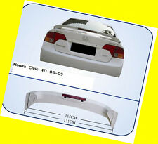 Trunk Spoiler for Honda Civic Sedan OE Style W/ LED 06-2010