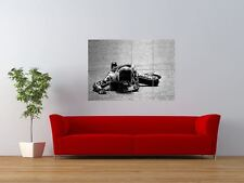 BARRY SHEENE MOTORBIKE MOTOR SPORT CHAMPION GIANT ART PRINT PANEL POSTER NOR0497