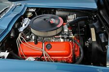 1965 CHEVY CORVETTE OPEN ELEMENT AIR CLEANER & 396/425 HP DECAL PACKAGE