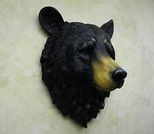 HD17807 GRANDFATHER MOUNTAIN BEAR WALL PLAQUE  WILDLIFE ANIMAL BUST  STATUE DWK