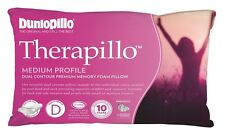 Dunlopillo Therapillo Memory Foam Dual Contour Medium Profile Pillow RRP $179.95