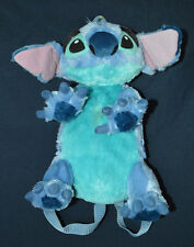 "NICE RARE 14"" LILO AND STITCH PLUSH DISNEY COSTUME BACKPACK RUCKSACK PURSE BAG"