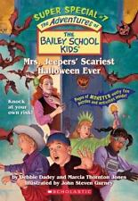 Mrs. Jeepers' Scariest Halloween Ever (The Bailey School Kids Super...  (ExLib)