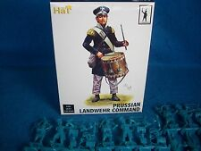 HAT#9325 Napoleonic PRUSSIAN Landwehr (Command) Toy Soldiers,(54MM) 18 figures