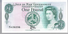 ISLE OF MAN BANKNOTE 1 P38 ND1983 aUNC