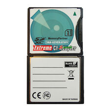 SD/SDHC/SDXC (B) to High-Speed CompactFlash Ultimate Extreme CF Type II Adapter