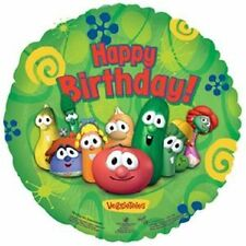 VEGGIETALES Happy Birthday LARRY Party BOB Decoration Balloon
