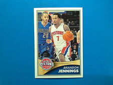 2015-16 Panini NBA Sticker Collection n.104 Brandon Jennings Detroit Pistons