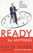 READY FOR ANYTHING 52 PRINCIPLES INCREASED PRODUCTIVITY / DAVID ALLEN 0749924799