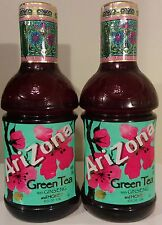 Arizona Green Tea ~ with Ginseng & Honey ~ 2 LARGE 42 oz. Bottles