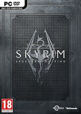 The Elder Scrolls V: Skyrim Legendary Edition ( PC GAME ) NEW SEALED