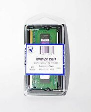 Kingston 4GB DDR3 1600Mhz KVR16S11S8/4 4G 204Pin Laptop Memory RAM Module