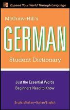 McGraw-Hill's German Student Dictionary (McGraw-Hill Dictionary)