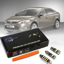 Ford Mondeo MK4 IV Premium Led Interior Kit 12 SMD White Error Free CanBus
