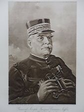 1914 1915 GENERAL JOSEPH JACQUES JOFFRE COMMANDER IN CHIEF OF FRENCH ARMYWWI WW1