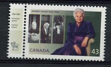 Canada 1994 SG#1582 Jeanne Sauve + Governer General Tab MNH#A77318
