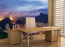 Sunset Landscape of Rio de Janeiro Wall Mural Photo Wallpaper GIANT WALL DECOR