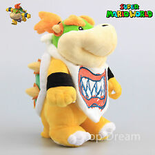 "8"" BOWSER JR. Standing KOOPA Super Mario Bros Plush Soft Toy Stuffed Doll Teddy"