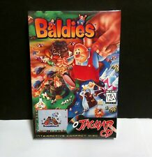 6 LOT NEW FACTORY SEALED BALDIES GAME FOR ATARI JAGUAR CD SYSTEM